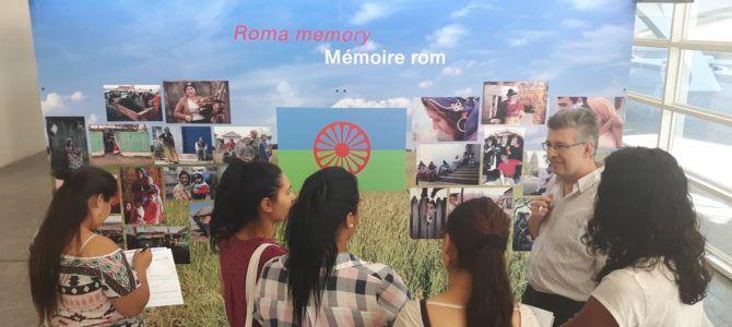 Proyecto Volver a estudiar – Visita Exposición Genocidio Gitano